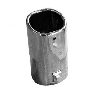 Walker® - Steel Square Chrome Exhaust Tip
