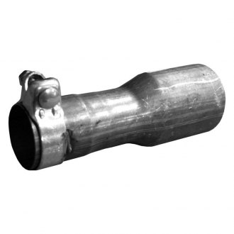 Walker® - Stainless Steel Round Straight Cut Clamp-On Raw Exhaust Tip