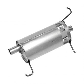 Walker® - Quiet-Flow™ Aluminized Steel Round Muffler Assembly