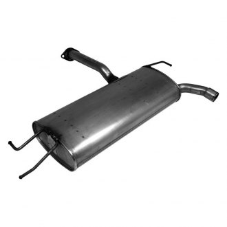Walker® - Quiet-Flow™ Stainless Steel Aluminized Oval Muffler Assembly