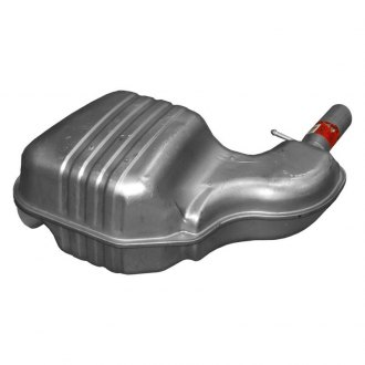 "Walker® - Quiet-Flow™ Aluminized Steel Irregular Direct Fit Muffler Assembly (2.375"" Special Inlet / 2.9"" Offset Outlet)"