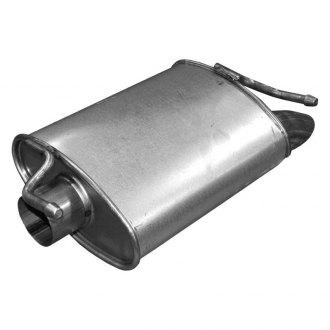 Walker® - Quiet-Flow™ Stainless Steel Oval Aluminized Exhaust Muffler Assembly