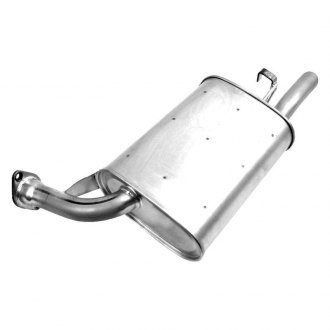 Walker® - Quiet-Flow™ Driver Side Aluminized Steel Exhaust Muffler Assembly