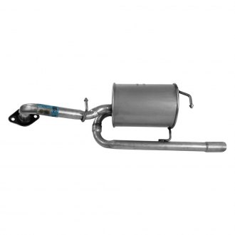 Walker® - Stainless Steel Round Bare Exhaust Muffler