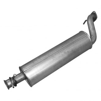 Walker® - Quiet-Flow™ Stainless Steel Round Aluminized Exhaust Muffler Assembly