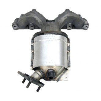 Walker® - CalCat™ Front Stainless Steel Exhaust Manifold with Integrated Catalytic Converter