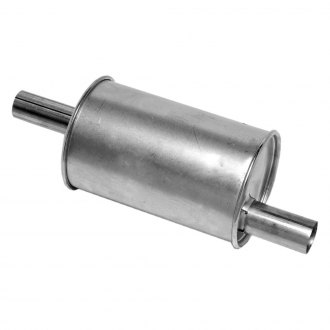 Walker® - Quiet-Flow™ Stainless Steel Round Aluminized Exhaust Muffler