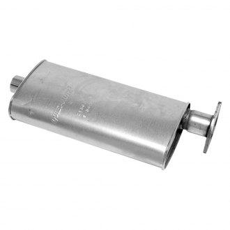 Walker Quiet Flow Stainless Steel Oval Aluminized Exhaust Ler
