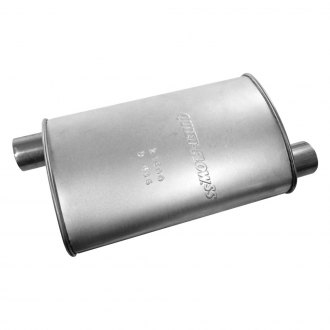 Walker® - Quiet-Flow™ Stainless Steel Oval Bare Exhaust Muffler
