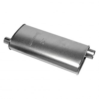Walker® - Quiet-Flow™ Aluminized Steel Oval Aluminized Exhaust Muffler