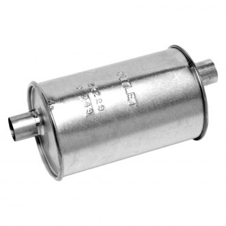 Walker® - Quiet-Flow™ Aluminized Steel Round Agricultural Aluminized Exhaust Muffler