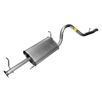 Walker® - Quiet-Flow™ Stainless Steel Oval Aluminized Exhaust Muffler and Pipe Assembly