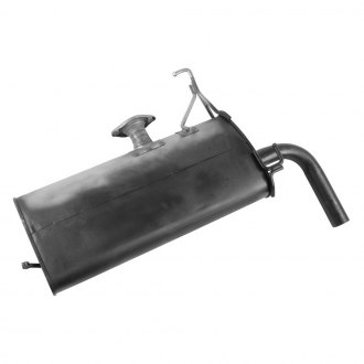 Walker® - Quiet-Flow™ Steel Oval Painted Exhaust Muffler and Pipe Assembly