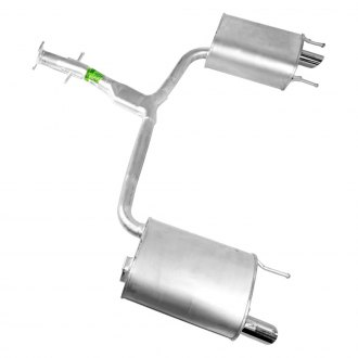Walker® - Quiet-Flow™ Aluminized Steel Oval Exhaust Muffler and Pipe Assembly