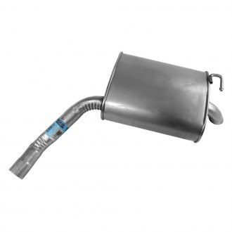 Walker® - Quiet-Flow™ Stainless Steel Oval Bare Exhaust Muffler and Pipe Assembly