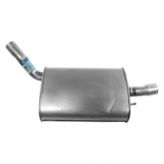 Walker® - Quiet-Flow™ Stainless Steel Oval Exhaust Muffler and Pipe Assembly