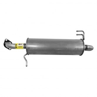 Walker® - Quiet-Flow™ Stainless Steel Round Bare Exhaust Muffler Assembly