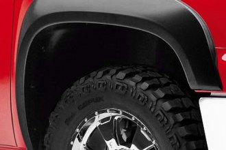 Warn® - 4X Fender Flares - Front and Rear Set