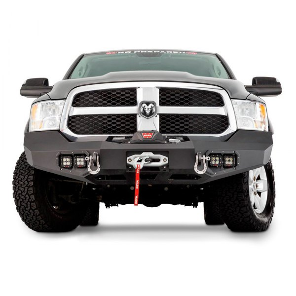WARN® - Ascent Full Width Front HD Black Bumper. Warn Industries Top Products