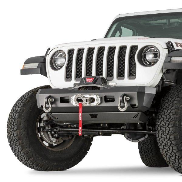 WARN® - Elite Series Stubby Front HD Black Bumper