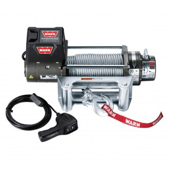 Warn® - M Premium 8000 lbs Self-Recovery Electric Winch