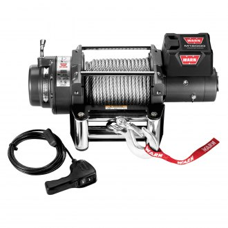Warn® - M12000 Self-Recovery 12000 lbs Electric Winch with Wire Rope