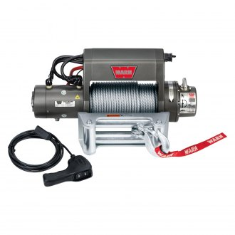 Warn® - XD Premium 9000 lbs Self-Recovery Electric Winch with Wire Rope
