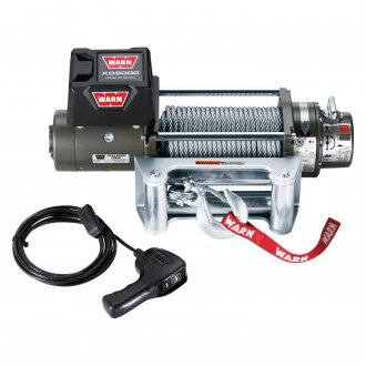 WARN® - 9,000 lbs XD9000 Premuim Series Self-Recovery Electric Winch With Wire Rope