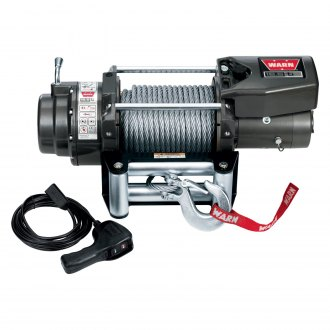Warn® - 16.5ti Thermometric 16500 lbs Self-Recovery Electric Winch with Wire Rope