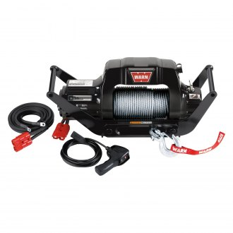 Warn® - 9.5cti Multi-Mount 9500 lbs Electric Winch with Wire Rope