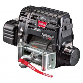 Warn® - PowerPlant Dual Force HP 9500 lbs Electric Winch with Air Compressor