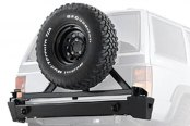 WARN® - Black Powder Coated Rear Bumper