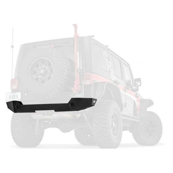 Warn® - Elite Series Rear Bumper