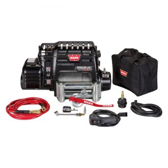 Warn® - 9500 lbs PowerPlant Dual Force HP Electric Winch with Air Compressor