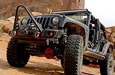WARN® - Off-Road Bumper on Jeep Wrangler