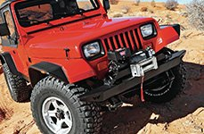 WARN® - Off-Road Bumper with Electric Winch