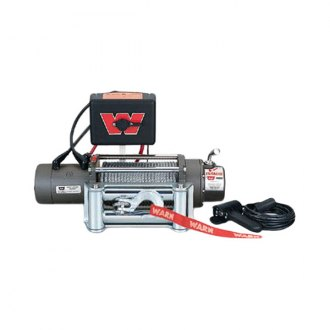 Warn® - 8000 lbs 12V DC M8000 Premium Self-Recovery Electric Winch with Wire Rope