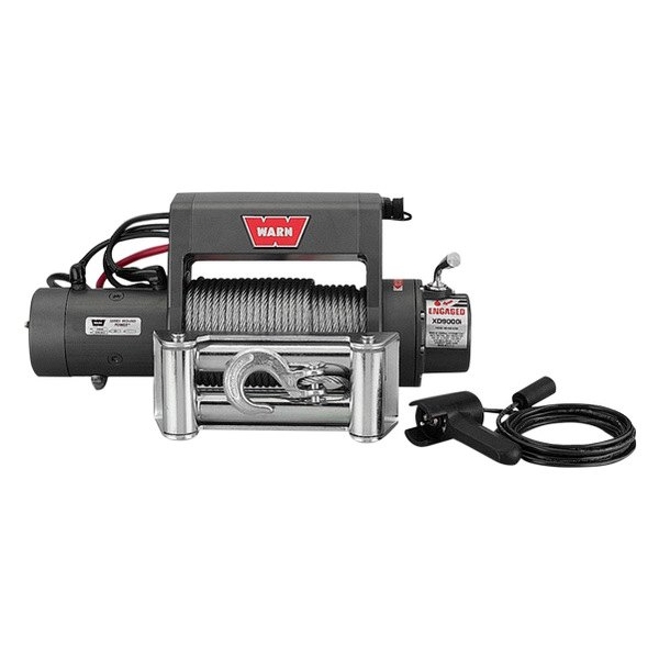 Warn® - 9000 lbs 12V DC XD9000i Self-Recovery Electric Winch