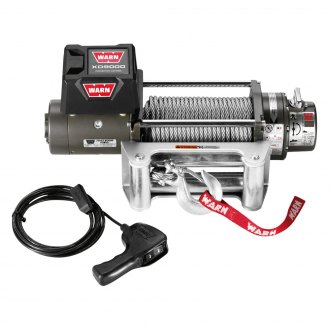 Warn® - 9000 lbs 12V DC XD9000 Premuim Self-Recovery Electric Winch with Wire Rope