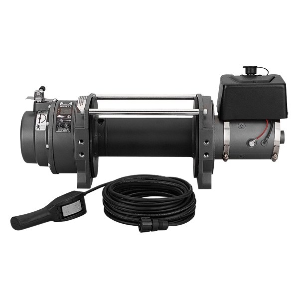 Warn® - 12000 lbs 24V Series 12 DC Industrial Winch