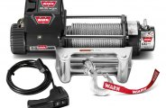 WARN� - 9500 lbs 12V DC 9.5xp Self-Recovery Electric Winch