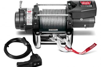 Warn® - 16500 lbs 12V DC 16.5ti Thermometric Self-Recovery Electric Winch