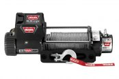 WARN® - 9500 lbs 12V DC 9.5xp Self-Recovery Electric Winch with Hawse Fairlead