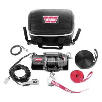 Warn® - 1500 lbs 12V DC SnoWinch 15 Snowmobile Winch