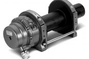 WARN® - Series 12 Hydraulic Round Top Industrial Winch 5.0 cu in Motor