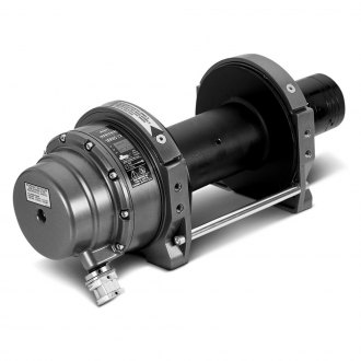 WARN® - 12000 lbs Series 12 Hydraulic Round Top Industrial Winch 5.0 cu in Motor