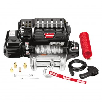 WARN® - 12000 lbs PowerPlant Dual Force HD Electric Winch with Air Compressor