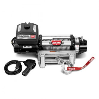 Warn® - 12000 lbs 12V DC Endurance 12.0 Self-Recovery Electric Winch