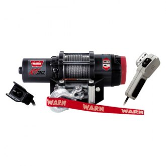 Warn® - 3000 lbs 24V RT30 Portable Winch with 50' Steel Rope