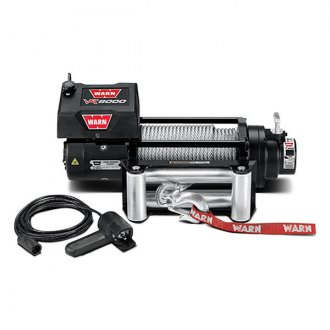 Warn® - 8000 lbs 12V DC VR8000 Entry Level Series Electric Winch